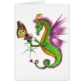 De draak van de Distel Kaart