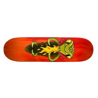 de draak van de skateboardbasis door highsaltire 18,1 cm old school skateboard deck