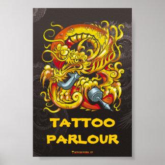 De Draak van Tattooer Poster