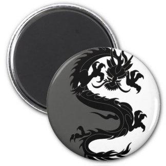 De Draak van Yang van Yin Koelkast Magneten