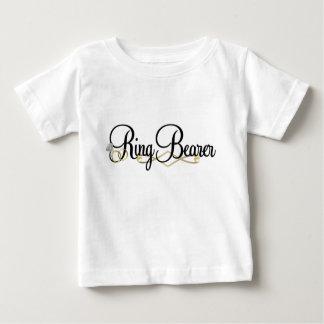 De Drager van de ring Baby T Shirts