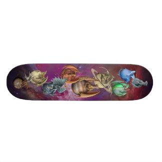 De draken van de Planeet Skateboards