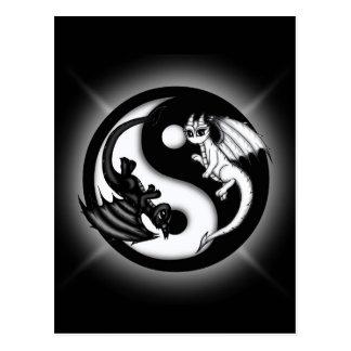 De Draken van Yang van Yin Briefkaart