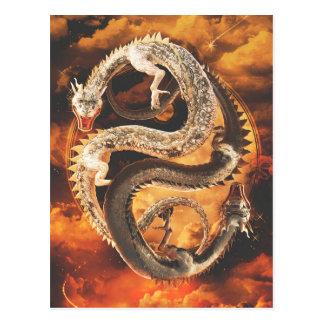 De Draken van Yang van Yin - Chaos Briefkaart