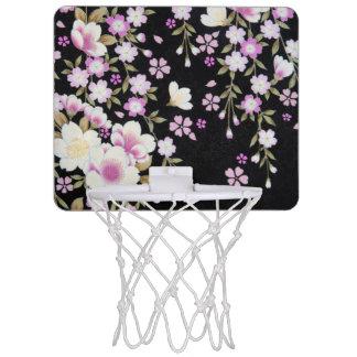 De Draperende Roze Bloemen van Falln Mini Basketbalring