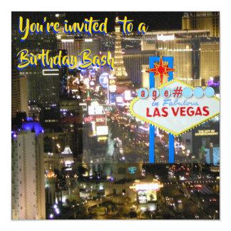De Dreun van de Verjaardag van Las Vegas om het Kaart