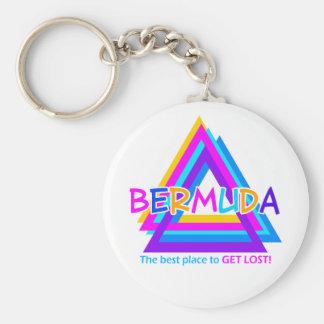 De DRIEHOEK van de BERMUDAS keychain Sleutelhanger