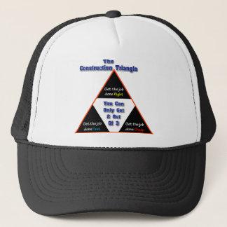 De driehoek van de Bouw Trucker Pet