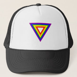 De Driehoek van de regenboog Trucker Pet