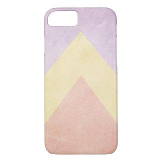 De driehoekspatroon van de pastelkleur iPhone 8/7 hoesje