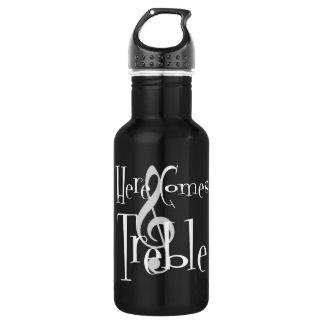De drievoudige Donkere Fles van het Water