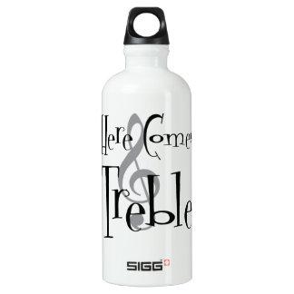 De drievoudige Fles van het Water Sigg