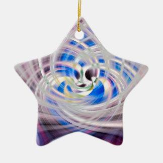 De drievuldigheid keramisch ster ornament