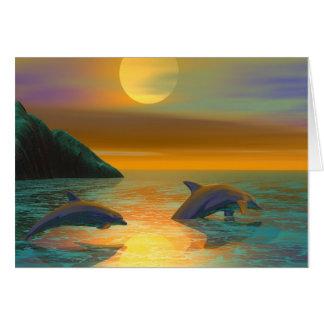 De Dromen van de dolfijn Briefkaarten 0