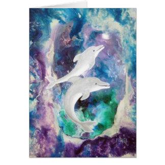 De Dromen van de dolfijn Notitiekaart