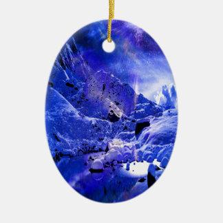 De Dromen van de Nacht van Yule Keramisch Ovaal Ornament