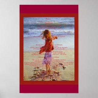 De Dromen van meisjes Poster