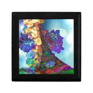 De dromen van Parijs van bloemen Decoratiedoosje