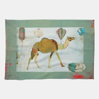 De dromerige Handdoek van het Monogram van de
