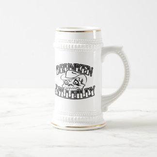 De dronken Stenen bierkroes van het Ontwerp van de Bierpul