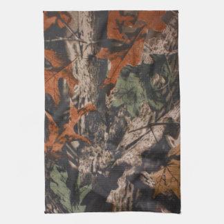 De Droogdoek van de Keuken van de Camouflage van Theedoek