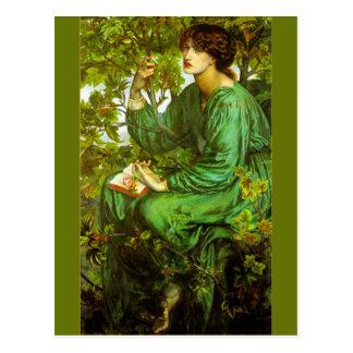 De droom van de Dag door Dante Gabriel Rossetti Briefkaart