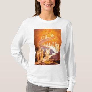 De Droom van Jacob door William Blake T Shirt