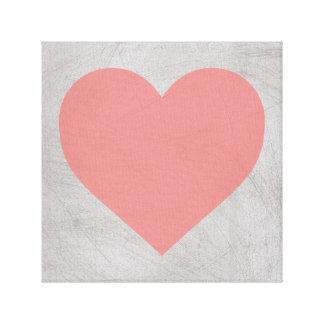 De Druk 12X12, 24X24 van het Canvas van het hart