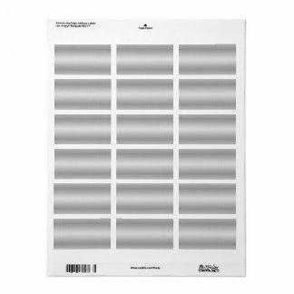 De druk-aan-de-Rand van Avery Adresetiket Etiket
