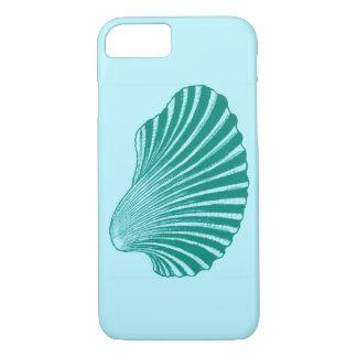 De Druk, het Turkoois en Aqua van het Blok van iPhone 8/7 Hoesje