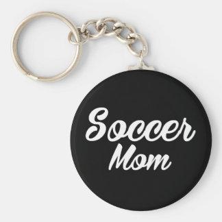 De Druk Keychain van het Mamma van het voetbal Sleutelhanger