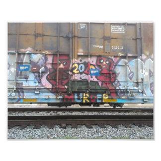 De Druk New Orleans van de Foto van Graffiti van