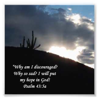 De Druk van de Aanmoediging van het 43:5 van de Ps Foto Afdruk