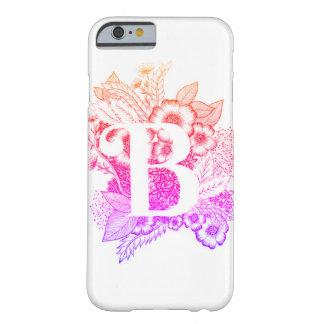 De druk van de brief B - Alfabet, Kalligrafie, Barely There iPhone 6 Hoesje
