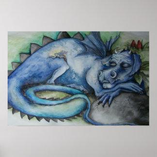 De Druk van de Dromen van de draak Poster