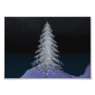 De Druk van de Foto van Kodak van de Kerstboom van