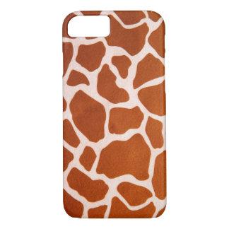 De Druk van de giraf iPhone 7 Hoesje