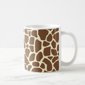 De druk van de giraf koffiemok