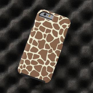 De druk van de giraf tough iPhone 6 hoesje