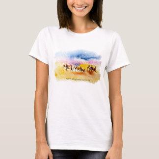 De druk van de Kudde van de Olifant van Amboseli T Shirt