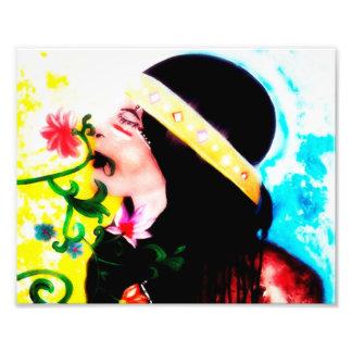 """De Druk van de Kunst van de muur, Decor 10"""" x 8 """" Foto"""