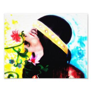 """De Druk van de Kunst van de muur, Decor 11"""" x 8.5 Foto"""