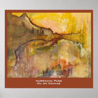 De Druk van de Kunstenaar van de Pas van de orkaan Poster