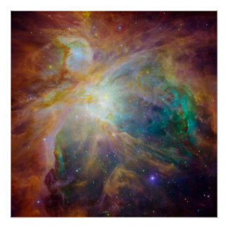 De Druk van de Nevel van Orion Poster