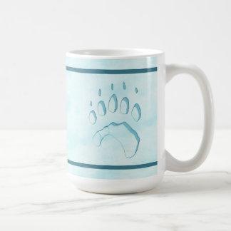 De Druk van de Poot van de Ijsbeer Koffiemok