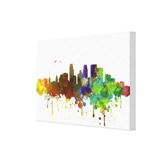 De druk van de Waterverf van de Horizon van Canvas Prints