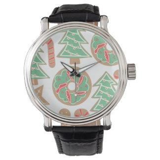De Druk van het Baksel van Kerstmis Horloges