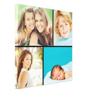 De Druk van het Canvas van de Collage van de Foto  Stretched Canvas Print