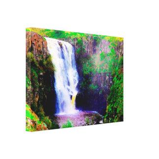 De Druk van het Canvas van de Watervallen van