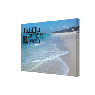 De Druk van het Canvas van het Strand van het